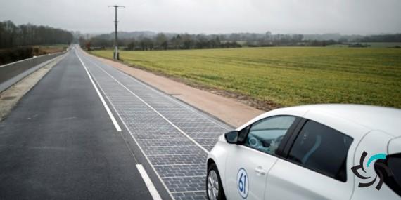جاده خورشیدی فرانسه | انرژی های تجدید پذیر | شبکه شرکت آراپل