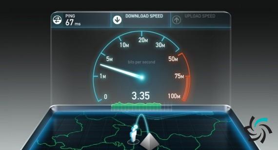 مقاسیه ی سرعت اینترنت موبایلی و وای فای ایران با سایر کشورها | اخبار | شبکه شرکت آراپل