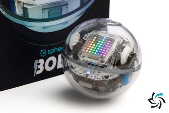 ربات جدید Sphero با نمایشگر LED و سنسورهای مادون قرمز معرفی شد  | اخبار | شبکه شرکت آراپل