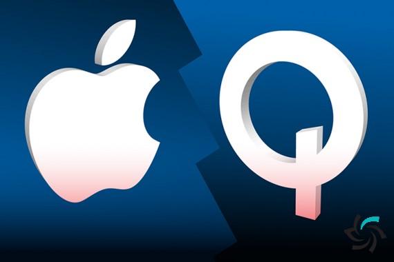 ادعای کوالکوم در مورد ناتوانی اپل   اخبار   شبکه شرکت آراپل