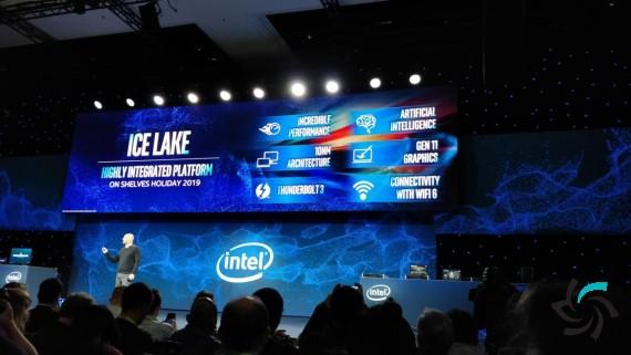 گرافیک یکپارچه IceLake عملکردی در سطح گرافیک AMD   اخبار   شبکه شرکت آراپل