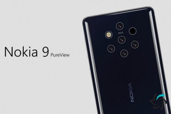 نوکیا 9 PureView با دوربین پنجگانه | اخبار | شبکه شرکت آراپل