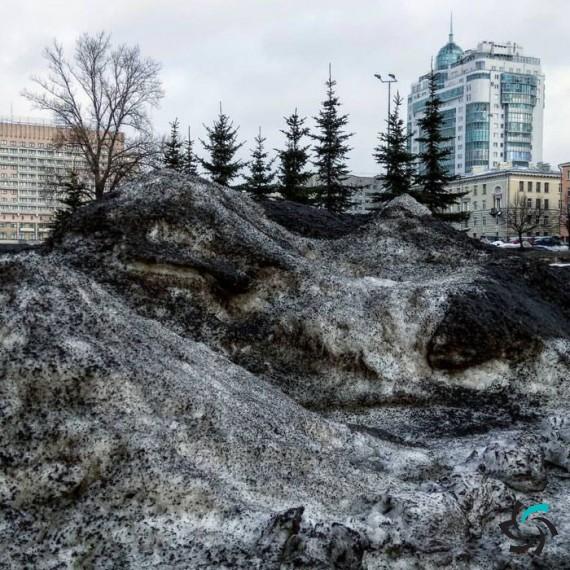 بارش برف سیاه در سیبری | اخبار | شبکه شرکت آراپل
