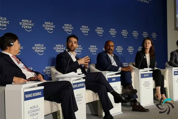 وزیر ارتباطات و فناوری اطلاعات در مجمع جهانی اقتصاد حضور پیدا کرد | اخبار | شبکه شرکت آراپل