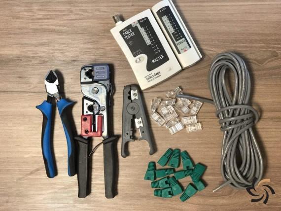 سوکت زدن کابل شبکه – آموزش تصویری و گام به گام | مطالب آموزشی | شبکه شرکت آراپل