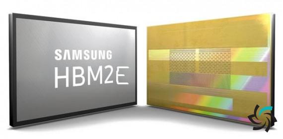 رو نمایی از حافظههای HBM2E سامیونگ | اخبار | شبکه شرکت آراپل