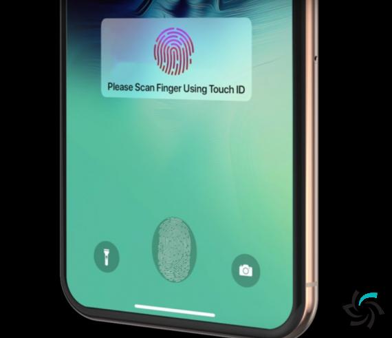 گوشی هوشمند آیفن با حسگر اثر انگشت زیر نمایشگر | اخبار | شبکه شرکت آراپل