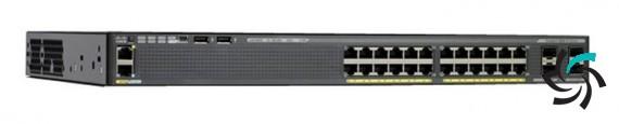 فروش سوئیچ های سیسکو | Cisco | Cisco Catalyst WS-C2960X-24TD-L | خرید | فروش